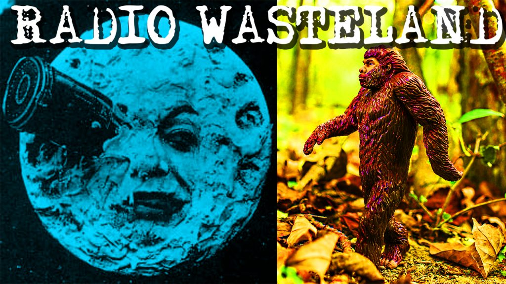 Radio Waste Land #01 Show Introduction, Bigfoot and Moon Conspiracies