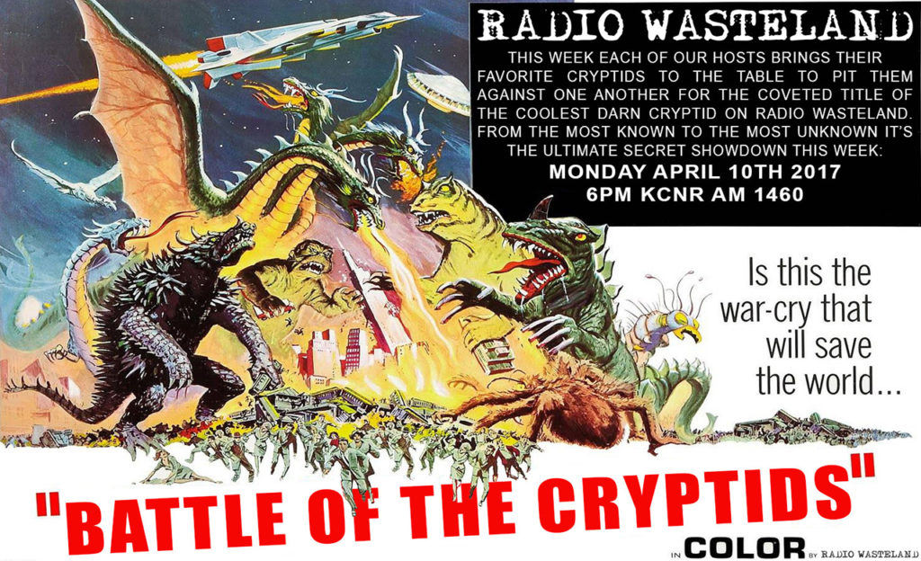 Radio Wasteland #09 Battle of the Cryptids #1