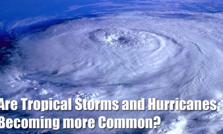 Are Tropical Storms and Hurricanes Becoming more Common?